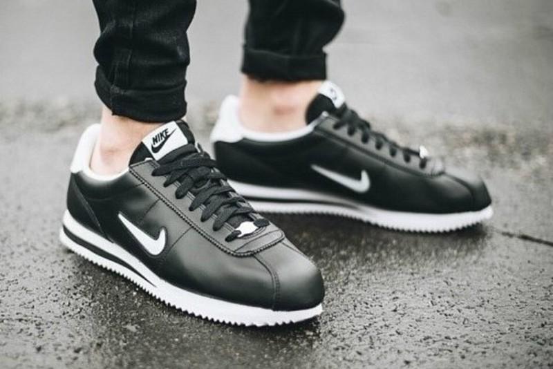 free shipping 64c50 91d04 [해외]나이키 코르테즈 베이직 쥬얼 Nike Cortez Basic Jewel Black 833238-002