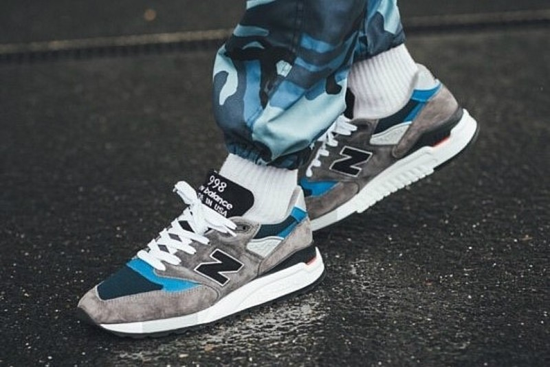 more photos f07a0 55a86 [해외]뉴발란스998 New Balance 998 Grey Blue M998NF