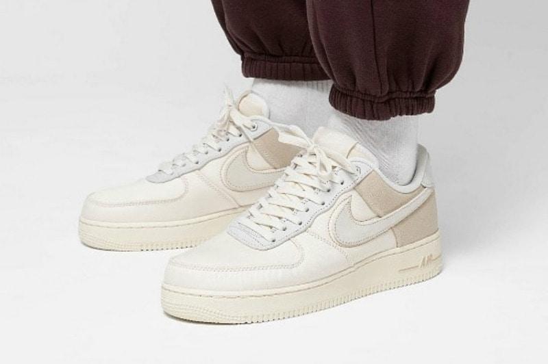 hot sale outlet boutique sale uk [해외] 나이키 에어포스1 07 프리미엄 Nike Air Force 1 07 Premium Pale Ivory Light Cream  Desert Ore Sail CI1116-100