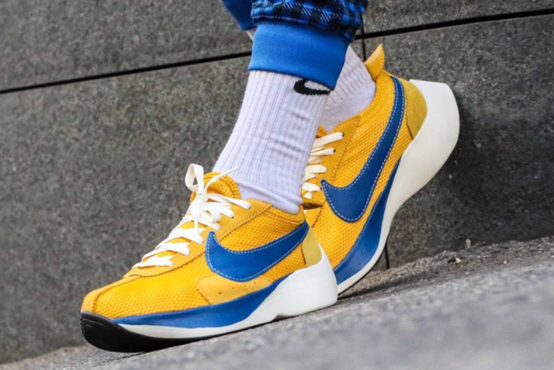[해외]​​나이키 문레이서 QS ​​Nike Moon Racer QS​ Yellow Ochre Gym Blue Sail BV7779-700