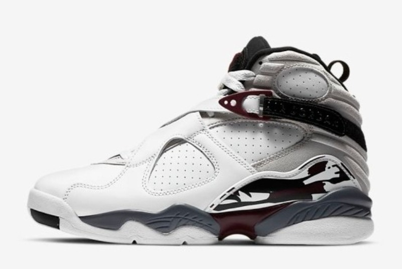 [해외]나이키 우먼스 에어조던8 레트로 흰회검 Nike​ W Air Jordan 8 Retro White Black Neutral Grey Hyper Blue CI1236-104
