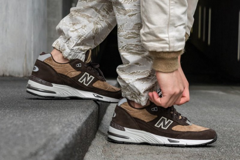 [해외]뉴발란스991 New Balance 991 Dark Brown Tan M991DBT