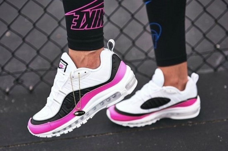 [해외]​나이키 우먼스 에어맥스98 ​SE Nike W Air Max 98 SE ​​​​White China Rose Black AT6640-100