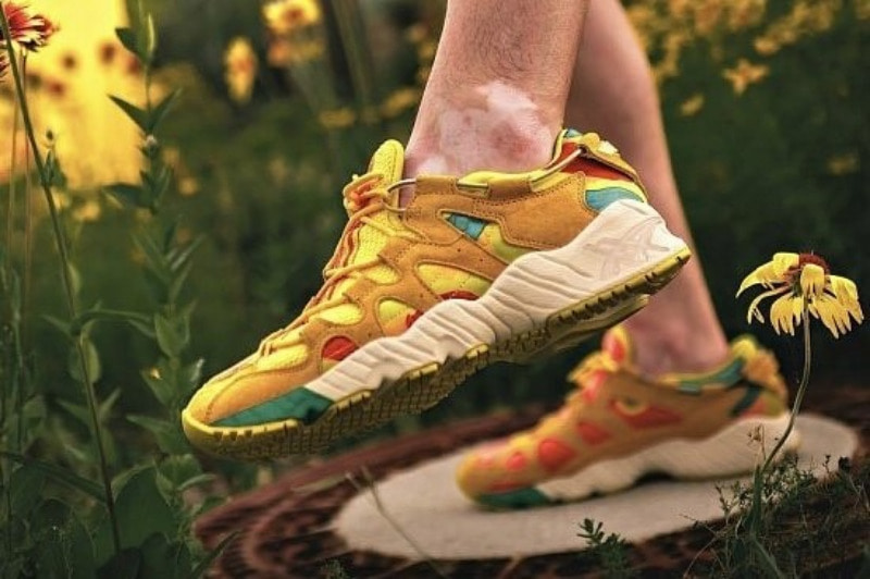 [해외]​아식스 젤마이 KO100 Asics Gel Mai KO100 Sunflower 1191A062-800