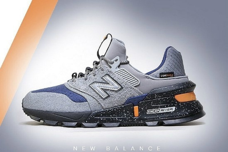 [해외]뉴발란스997 스포츠 New Balance 997 Sport Grey Steel Techtonic Blue MS997SC