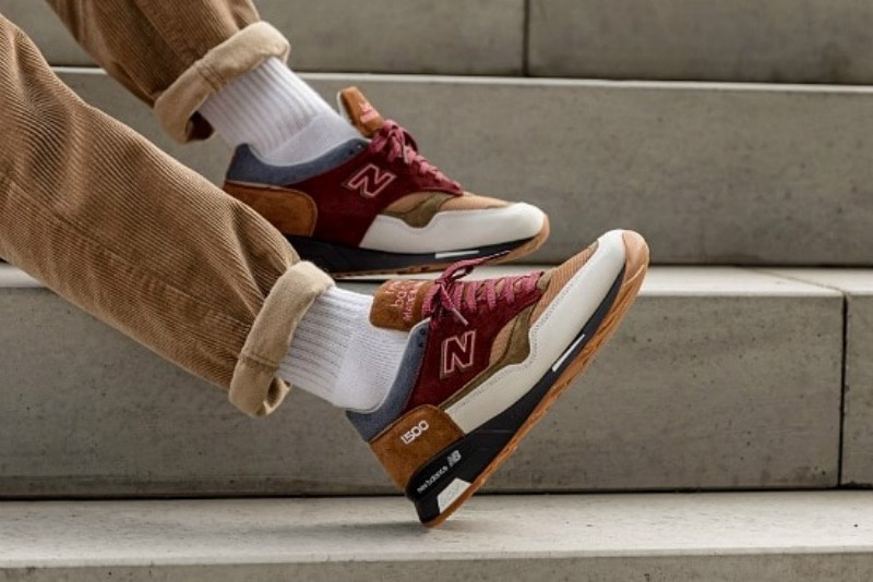 [해외]뉴발란스1500 New Balance 1500​​ Brown Olive Burgundy M1500BWB