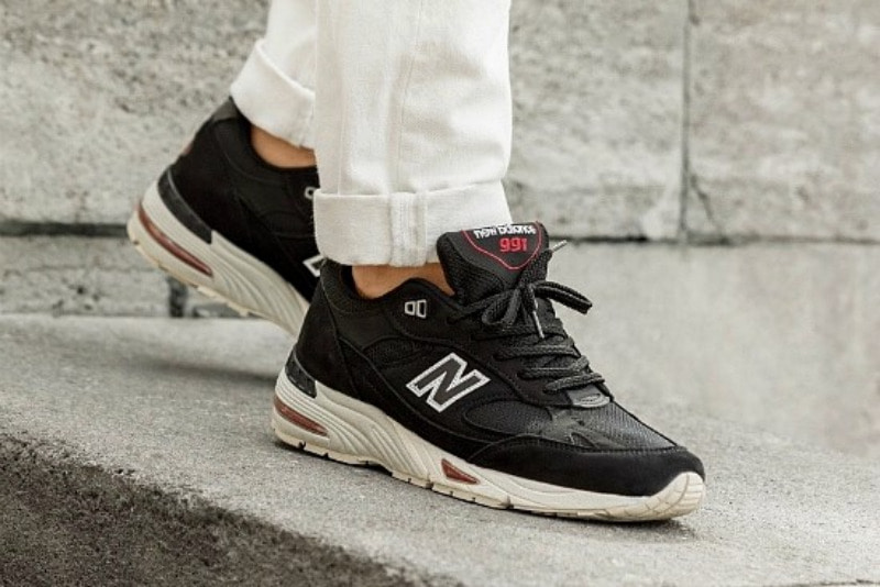 [해외]뉴발란스991 New Balance 991 Black Red M991NKR