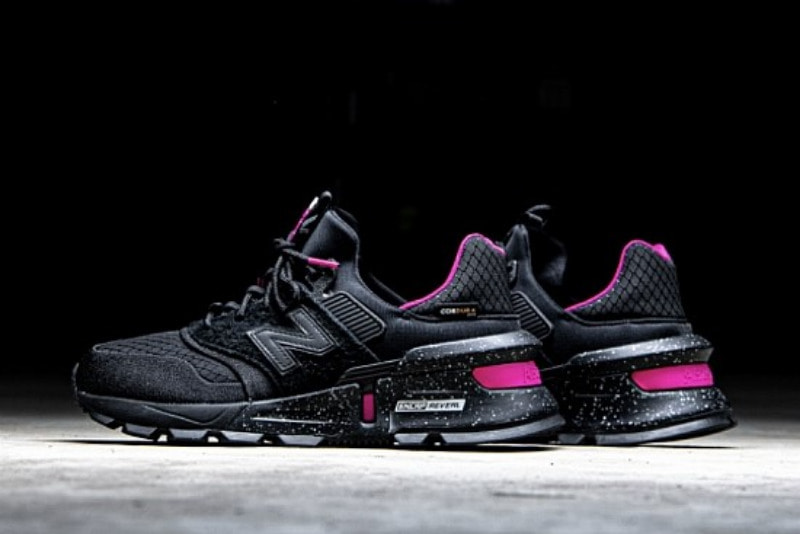 [해외]뉴발란스997 스포츠 New Balance 997 Sport Black Pink MS997SBP