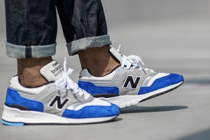 [해외]​뉴발란스997 New Balance 997 White Blue Grey M997OGA