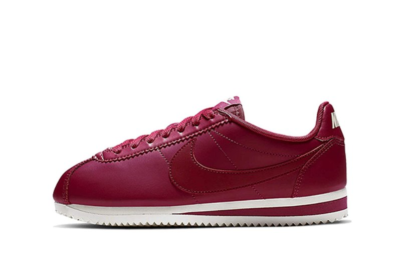 [해외]​나이키 우먼스 클래식 코르테즈 Nike W Classic Cortez ​Wild Cherry Summit White​ ​Noble Red 807471-602