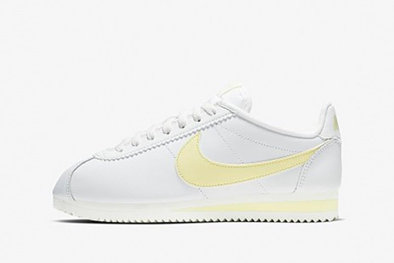 [해외]나이키 우먼스 클래식 코르테즈 Nike W Classic Cortez​ Summit White​ ​Bicycle Yellow​ 807471-113​