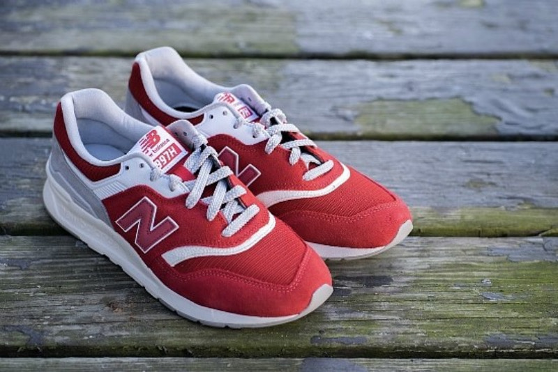 [해외]​뉴발란스997H New Balance 997H Team Red Rain Cloud CM997HDS