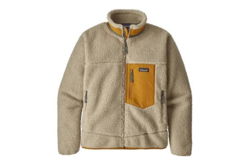 [해외]​파타고니아 멘즈 클래식 레트로-X 플리스 자켓 Patagonia Men's Classic Retro-X® Fleece Jacket​ Pelican w Wren Gold​