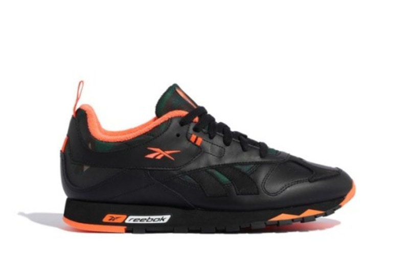 [해외]리복 클래식 레더 RC 1.0 Reebok Classic Leather RC 1.0 Black Orange Camo FW2567
