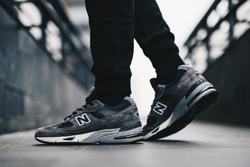 [해외]뉴발란스991 New Balance 991 Grey Dark Blue M991SGN