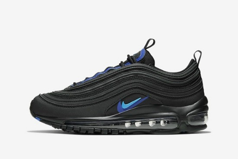 [해외]​나이키 GS 에어맥스97 Nike GS Air Max 97 ​​Black Hyper Royal Blue Hero CT6025-001