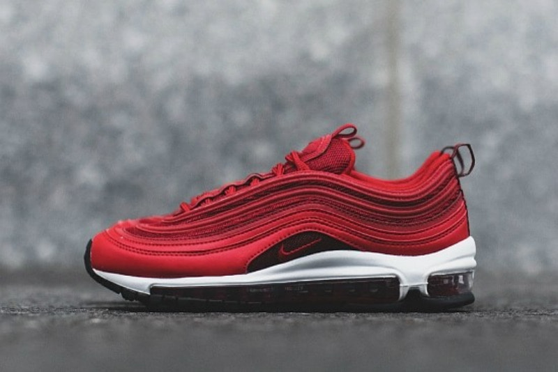 [해외]나이키 우먼스 에어맥스97 Nike W Air Max 97 University Red Gym Red Black White CQ9896-600