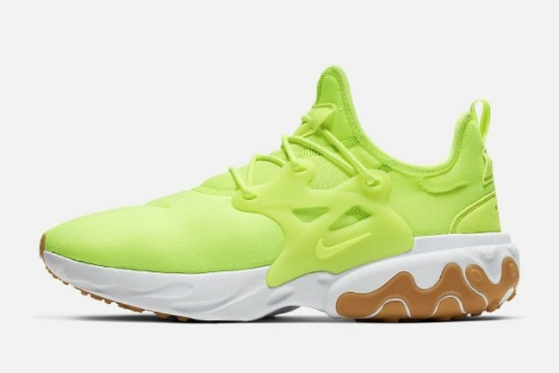 [해외]나이키 리액트 프레스토 볼트 Nike React Presto​ Volt White Gum Light Brown AV2605-702