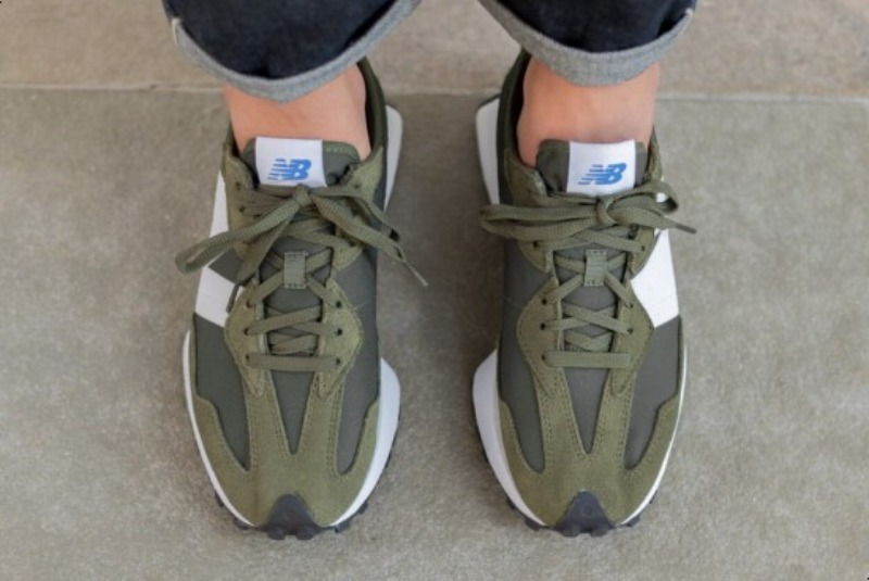 [해외]뉴발란스327 리프그린 New Balance 327 Leaf Green Munsell White MS327CPE