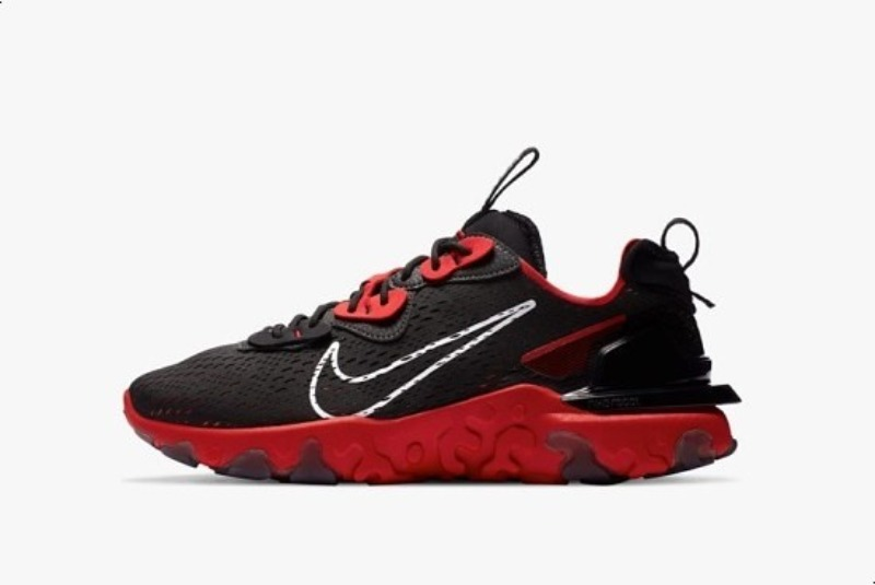 [해외]나이키 리액트 비전 검빨 Nike React Vision Black University Red DC1853-001